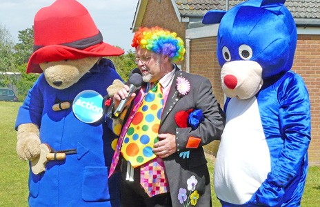 Paddington Jim Rumble Yare Bear FUN DAY